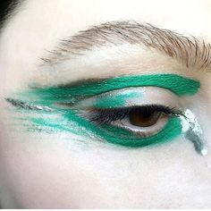 Green strokes back via @makeup_by_ruzrouge #eyeconic #partymakeup #eye #mua #makeupart #closeup #beautygram #makeupinspo #facepaint #eyeshadow #lookoftheday #beautyinspo #colorfulmakeup  via TUSH MAGAZINE OFFICIAL INSTAGRAM - Celebrity  Fashion  Haute Couture  Advertising  Culture  Beauty  Editorial Photography  Magazine Covers  Supermodels  Runway Models