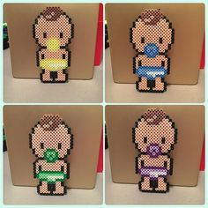 Babies hama beads by parlplattortesalu