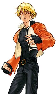 Rock Howard (Capcom vs SNK Mark of the Millennium - Artist: Kinu Nishimura