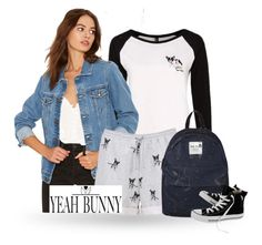 """""""Untitled #49"""" by kayira ❤ liked on Polyvore featuring Yeah Bunny and Converse"""