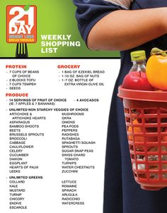 Use this shopping list to prep for Dr. Oz's new diet. Tune in Monday, January 2 for the complete plan!