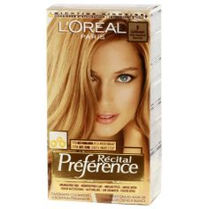 L'oreal Recital Preference 8 California Bright Natural Blond - http://www.transfashions.com/en/beauty-health/hair-care/hair-colors/loreal-hair-colors/loreal-recital-preference-8-california-bright-natural-blond.html Intensive, with a long lasting color result gelkleuring A color with intense and lasting shine. Thanks to its unique structure, attach the...