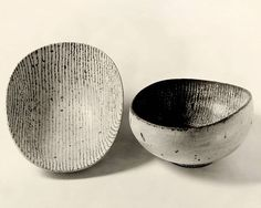 Lucie Rie - Stoneware bowls, 1952