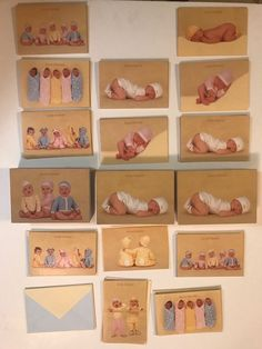Anne Geddes Baby Cards Blank Various Designs Lot of 59 Baby Shower Thank You   | eBay