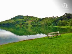 SMALL IS BEAUTIFUL. Lake Apo in the mountainous province of Bukidnon is a small but beautiful lake