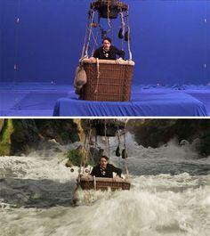 Oz, Mágico e Poderoso ***** A magia do cinema: 40 imagens de filmes e séries antes e depois dos efeitos especiais - Slideshow - AdoroCinema