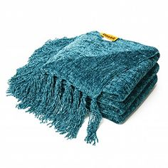 DOZZZ Decorative Throw Sofa / Couch Chenille Throw Blanket 60 X 50 Inches, Teal DOZZZ http://smile.amazon.com/dp/B00PRTKW9S/ref=cm_sw_r_pi_dp_u9tPwb0GCSSZ2