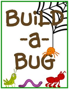 Build a Bug- print for a Bug Building station