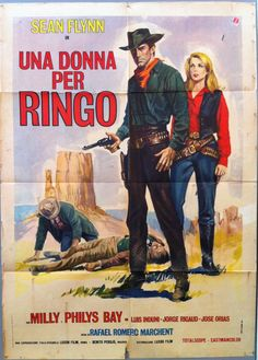 Una donna per Ringo Turner Classic Movies, Classic Films, Cinema Posters, Film Posters, Iconic Movies, Good Movies, Sean Flynn, Foreign Movies, Movie Poster Art