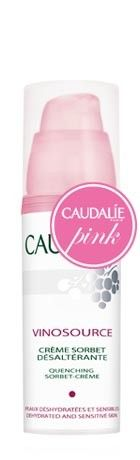 Caudalie's Vinosource Quenching Sorbet-Crème. Light but very moisturizing. Great for sensitive skin.