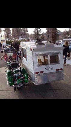 Side car camper