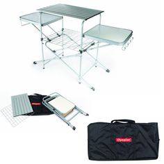 Table-Grilling-Grill-Folding-Bbq-Cover-Outdoor-Portable-Camping-Picnic-Cooking