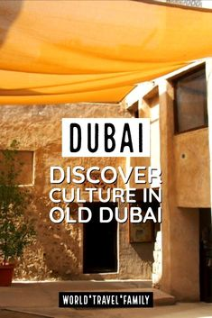 Dubai - Dubai Travel. Take the chance to discover the origins and culture of Dubai on a cultural tour and lunch in Old Dubai. Highly Recommended and Enjoyable! #Dubai #Dubaitravel… More