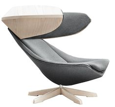 Gage Koontz Form - The chairs unique shape gives a unique presence to the room.
