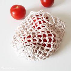 HVERDAGSMAGI: Mini Rustic Drawstring Net