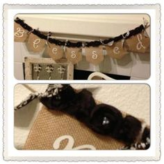 BLESSED banner by Thebannergirls on Etsy, $35.00