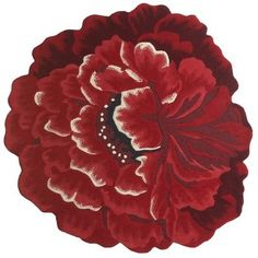 """Flower rug 4'3""""... From Pier 1 . I love this rug!!"""