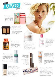 Top Flavia Lucini revela quais são seus produtos de beleza essenciais