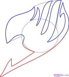 how to draw fairy tail step 4