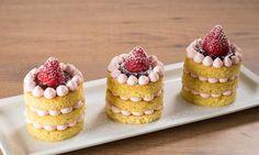 Mini cake alla crema chantilly e fragole   Ricetta| cameo