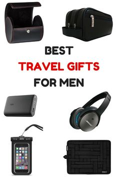 Shopping for the perfect Father's Day gift? Here are the best travel gift ideas for men.:
