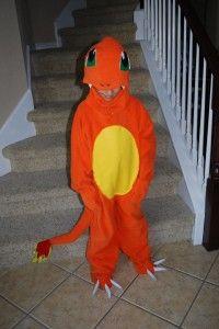 Charmander costume