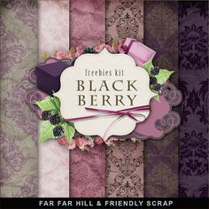 Sunday's Guest Freebies -Far Far Hill Free Digital Scrapbook Supplies