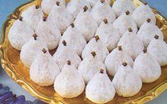 Greek Sweets, Greek Desserts, Greek Recipes, Cookie Recipes, Snack Recipes, Dessert Recipes, Cake Cookies, Cupcake Cakes, Greek Appetizers
