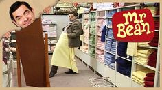 Mr Bean - Shopping for Towels