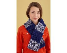 Clever Crochet Scarf Pattern