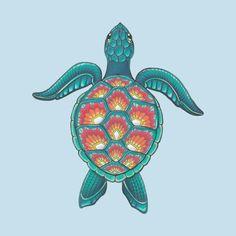 Awesome 'Mandala+Turtle' design on TeePublic! Mandala Tattoo Design, Mandala Turtle, Deco Paris, Tattoo Motive, Tattoo Hand, Turtle Painting, Full Sleeve Tattoos, Animal Fashion, Aesthetic Stickers