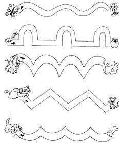 Fine Motor Skills Worksheets For Preschoolers Home Ideas educativas para ninos de 2 a 3 anos Shape Worksheets For Preschool, Preschool Writing, Preschool Learning Activities, Preschool Art, Kindergarten Worksheets, Preschool Activities, Teaching Kids, Kids Learning, Alphabet Worksheets