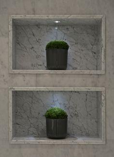 Amo nichos em banheiros... são sempre super úteis e  decorativos. Boscolo - The Townhouse - Bathroom