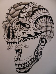 Image result for polynesian skull image