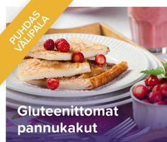 Gluteenittomat välipalaherkut - raisio.com