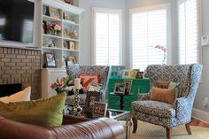 magnifique couleur verte du meuble superbes fauteuils