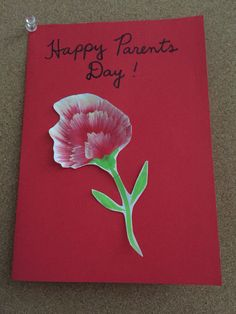 Carnation flowers easy thank you or mothers day card made of carnation flowers easy thank you or mothers day card made of tissue paper flower directions layer 6 8 pieces of paper staple an x in the mightylinksfo