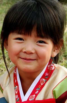 Korean child...sweet smile