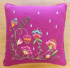 Advanced Embroidery Pillow Kit