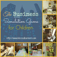 The Business Simulation Game for Children