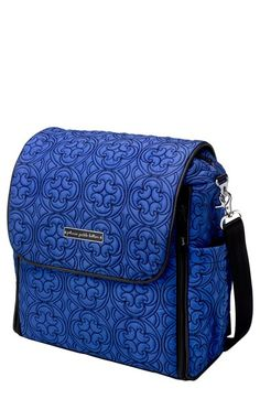 Petunia Pickle Bottom 'Embossed Boxy - Fall 2014' Backpack Diaper Bag available at #Nordstrom