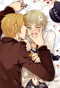 Delicious Birthday by +LC斐爾+  - Hetalia - America / England