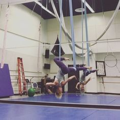 Some more moves for y'all. Aerial Hammock, Indoor Hammock, Aerial Dance, Aerial Hoop, Aerial Arts, Aerial Silks, Circus Art, Yoga, Pole Dancing