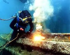 commercial diving pictures - Google Search