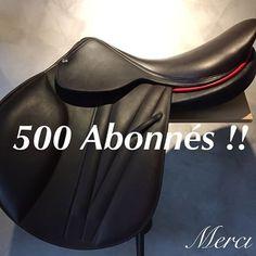 Nous avons atteint les 500 abonnés ! Merci à tous ! 500 Followers! Thank you! #butet #butetsaddle #butetsaumur #riding #rider #cavalier #cso #leather #premium #selle #sellerie #saddlery #saumur #horse
