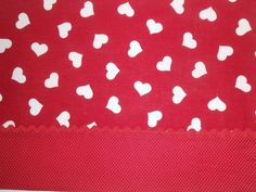 Romance in Reds 4pc Valentine Placemat Set by ColdStreamCrafts