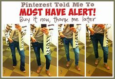 Pinterest Told Me To: Pinterest Told Me To MUST HAVES!