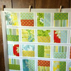 Half-square quilt tutorial from frozen knickers.