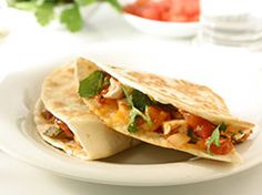 ... out this recipe from @Mayo Clinic Healthy Recipe: Chicken quesadillas