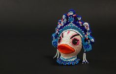 Beaded Rubber Ducks : The Peking Opera Collection - The Beading Gem's Journal